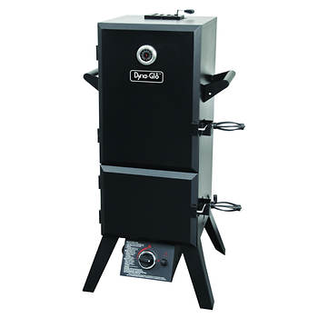 "Dyna-Glo 36"" Double-Door Vertical Gas Smoker"