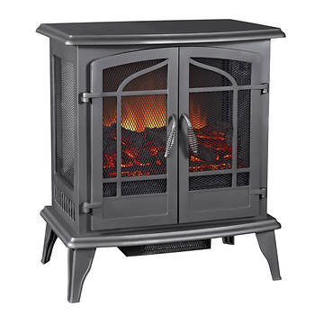 Pleasant Hearth Legacy Panoramic Electric Stove