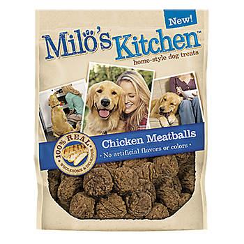 Milo's Kitchen Chicken Meatballs Dog Treats, 30 Oz.