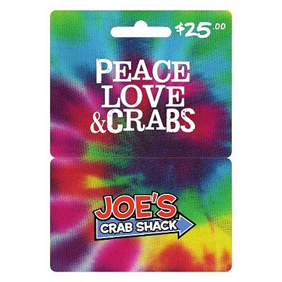 $25 Joe's Crab Shack Gift Card