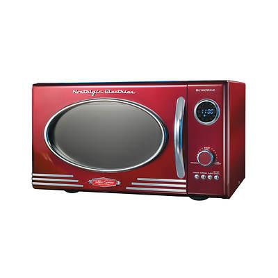Nostalgia Electrics Retro Series 0.9-Cu. Ft. 800W Microwave - Emerald Green