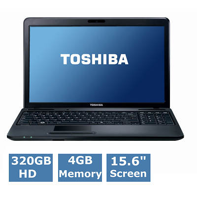 Toshiba Satellite C855D-S5230 Laptop, AMD Dual-Core E1-1200 Accelerated Processor