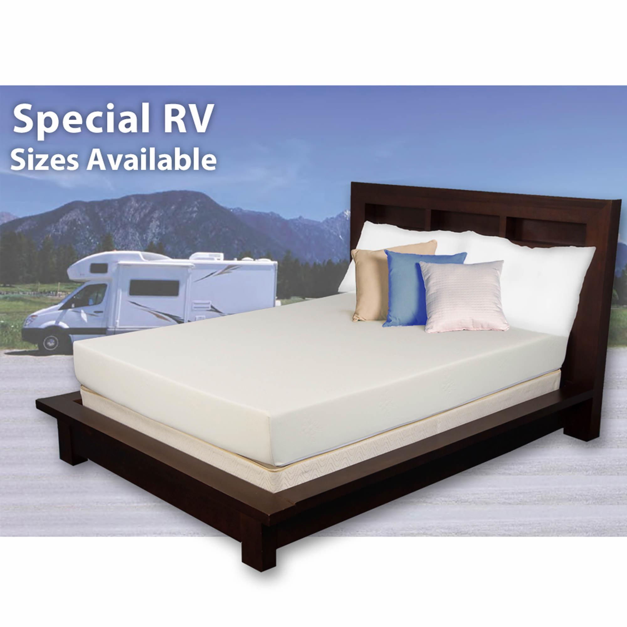 cradlesoft queen short size 8 memory foam rv mattress bj 39 s wholesale club. Black Bedroom Furniture Sets. Home Design Ideas