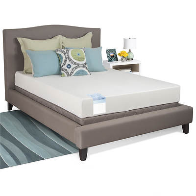 "Cradlesoft Queen-Size 8"" Gel Memory Foam Mattress"