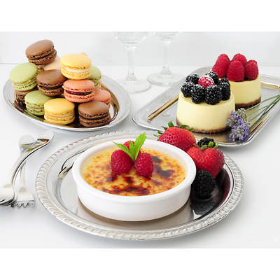 All-Natural Key To Your Heart French Dessert Sampler, 38 Count