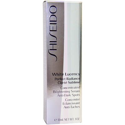 Shiseido White Lucency Perfect Radiance Concentrated Brightening Serum, Anti-Dark Spots, 1 Oz.