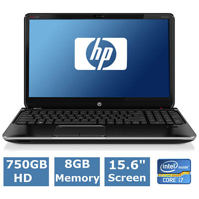 HP Pavilion dv6-7134nr Laptop, 2.3GHz Intel Core i7-3610QM Processor