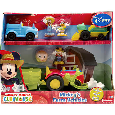 Fisher-Price Disney Mickey Mouse Clubhouse Mickey's Farm Vehicles
