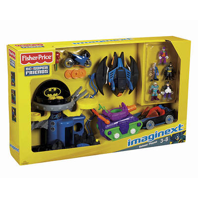 Fisher-Price DC Super Friends Imaginext Batman Playset