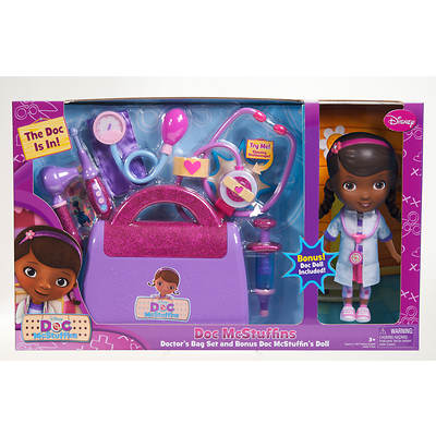 Doc McStuffins Doctor's Bag Set and Bonus Doc McStuffins Doll