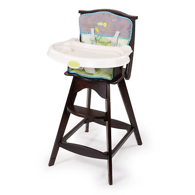 Summer Infant Carter's Flitter Classic Comfort Reclining Wood High Chair