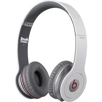 Beats by Dr. Dre Beats Solo Over-the-Ear Headphones - White