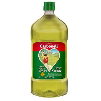 Carbonell Extra Virgin Olive Oil, 68 oz.