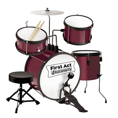First Act Discovery 6-Piece Drum Kit