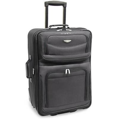 "Travel Select Amsterdam 25"" Expandable Rolling Upright - Grey"
