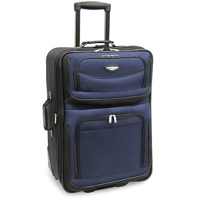 "Travel Select Amsterdam 25"" Expandable Rolling Upright - Navy"