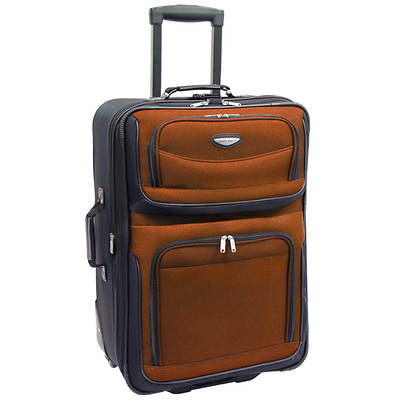 "Travel Select Amsterdam 25"" Expandable Rolling Upright - Orange"