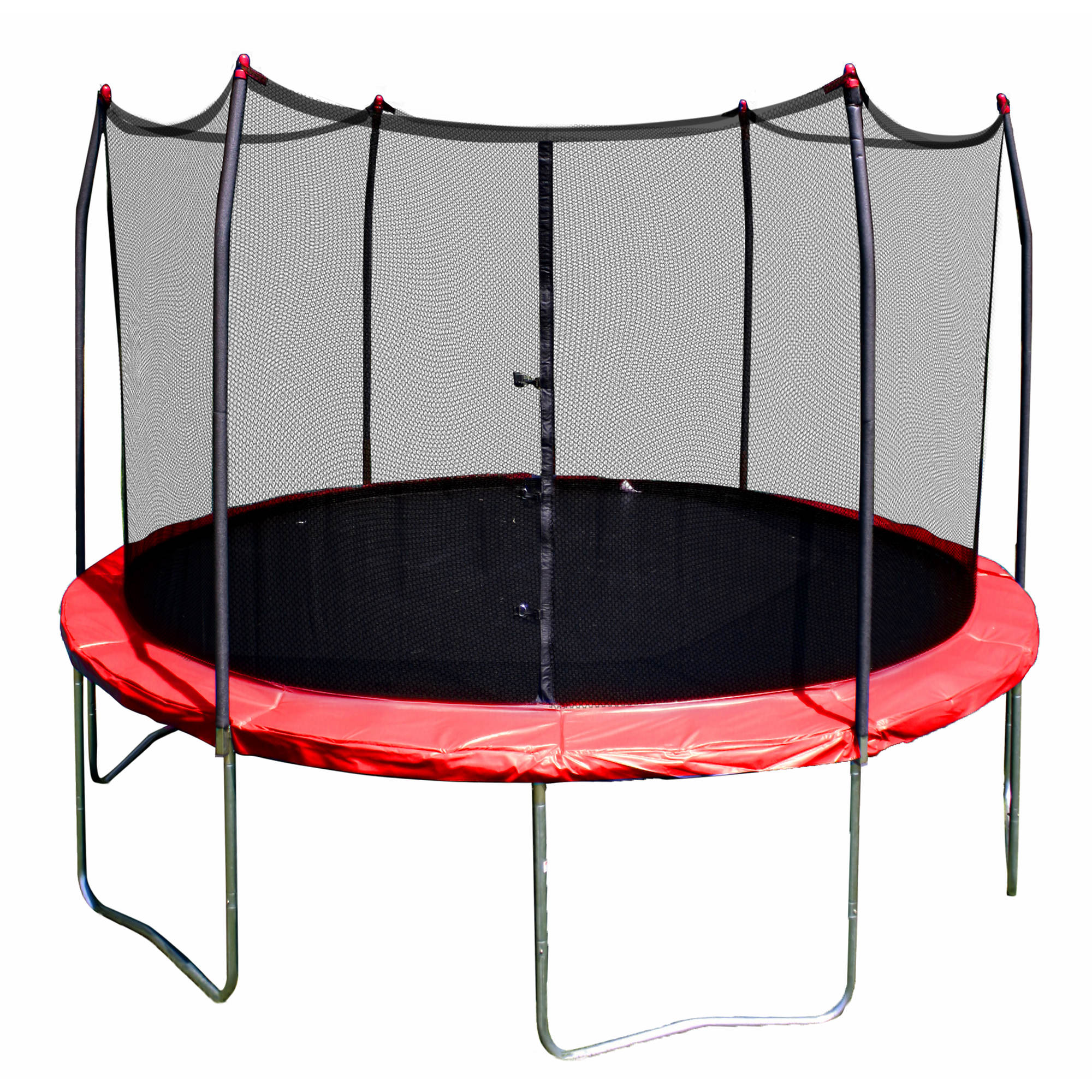 Skywalker Trampolines 17x15: Skywalker Trampolines 12' Round Trampoline With Enclosure