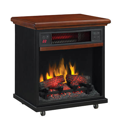 Duraflame Portable Fireplace Infrared Heater with Remote