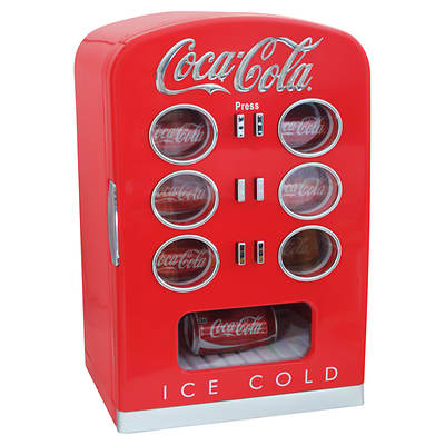 Koolatron Coca-Cola 12-Can Vending Fridge