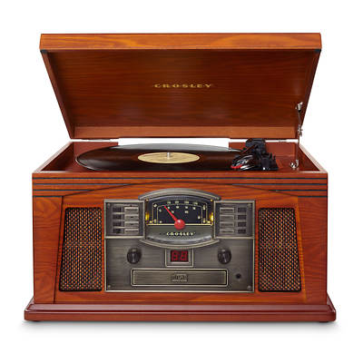 Crosley Lancaster Entertainment Center - Paprika