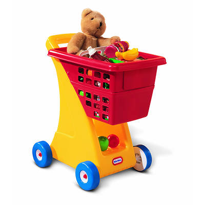 Little Tikes Shopping Cart - Red, Yellow