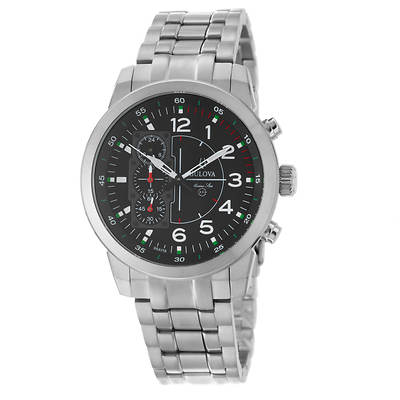 Bulova Marine Star Men's Chronograph Watch in Titanium