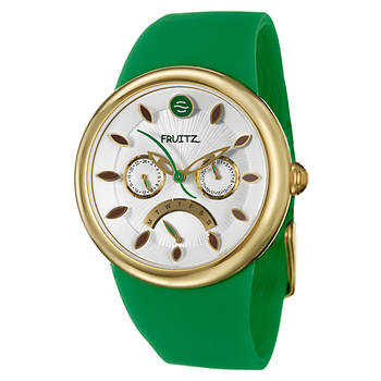 Fruitz by Philip Stein Happy Hour Appletini Women's Watch in Stainless Steel