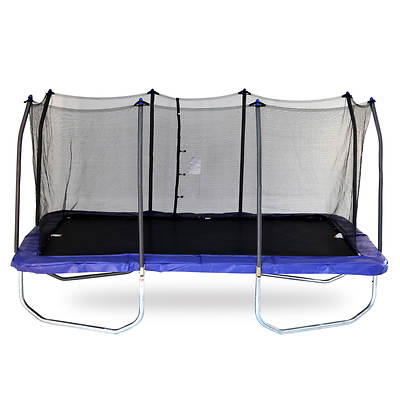 Skywalker Trampolines 15' x 9' Rectangular Trampoline with Safety Enclosure