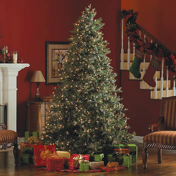 "Sylvania 7'6"" Pre-Lit Artificial Frasier Fir Christmas Tree - Clear"