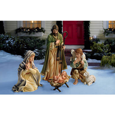 Living Home 4-Piece Nativity Set
