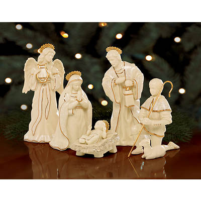 Lenox Innocence Nativity 6-Piece Holy Family Set