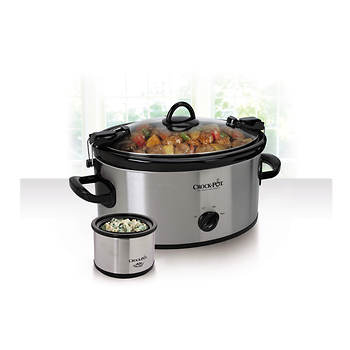Crock-Pot  6.5-qt. Cook N' Carry Slow Cooker with Bonus Little Dipper