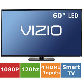 "Vizio 60"" Smart LED TV 1080p 120Hz Wi-Fi"