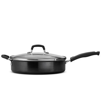 Tramontina 5.5-Qt. Covered Deep Saute Pan with Helper Handle