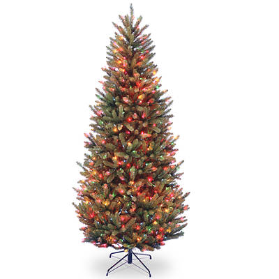 "National Tree Company 7'6"" Pre-Lit Artificial Fraser Fir Christmas Tree - Multicolored"