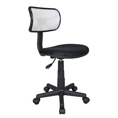Techni Mobili Mesh Task Chair - White
