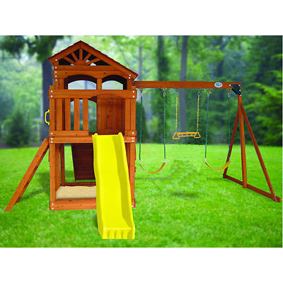 Creative Cedar Designs Timber Valley Playset
