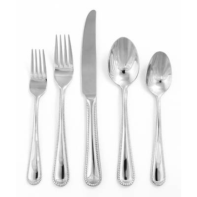 Hampton Forge Lara 65-Piece Flatware Set