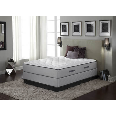 Sealy Spruce Pine Firm Queen-Size Mattress Set