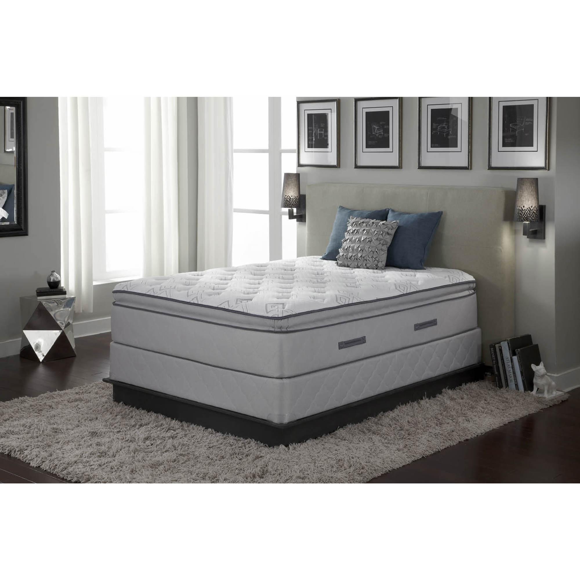 sealy edgemont plush euro pillowtop queen size mattress With cheap plush queen mattress