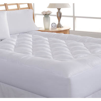 Diamond Loft 200 Thread Count California King-Size Mattress Pad