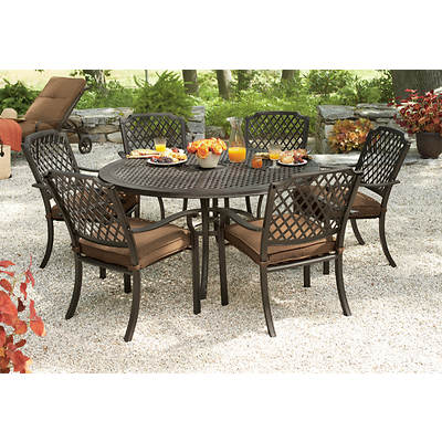 Living Home Outdoors Jardin 8-Piece Dining Set