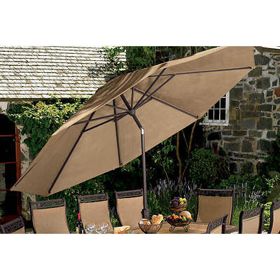 Living Home Outdoors Verona 11' Market Umbrella