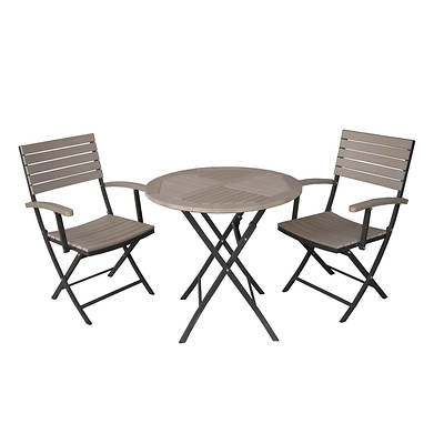 InfiniTree 3-Piece Folding Bistro Set