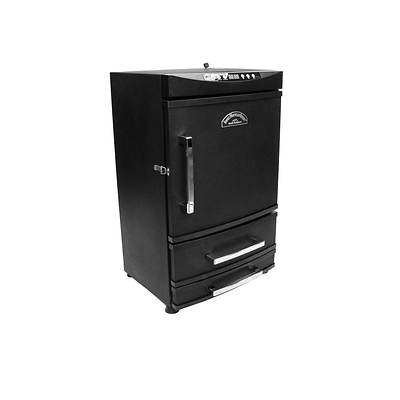 "Landmann Smoky Mountain 32"" Vertical Electric Smoker with 2 Heat-Saving Drawers"