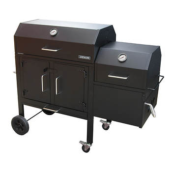 Landmann Black Dog 42XT Charcoal Grill and Smoker