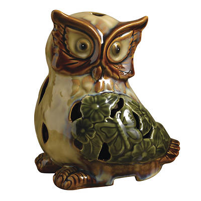 Westinghouse Scenterrific Owl Warmer with Vanilla Fragrance Disk