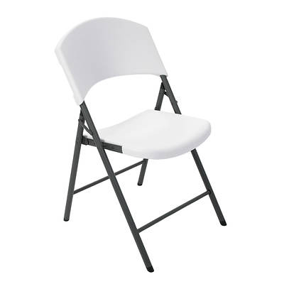 Lifetime Folding Chairs 32 Pack White Bj 39 S Wholesale Club
