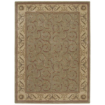 "Nourison Somerset ST02 7'11"" x 10'1"" Rug - Meadow Green"